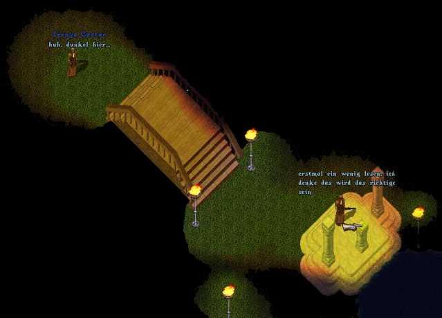 Die Insel auf der neue Spieler ihren Char erschaffen